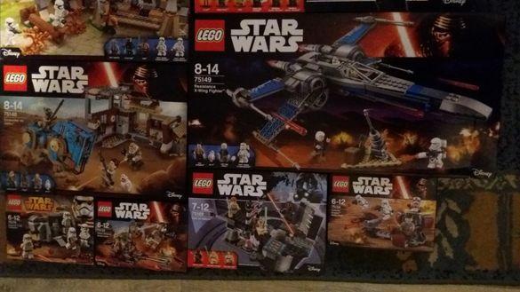 Чисто Нови Сетове Star Wars Марвел Нинджаго Лего LEGO Harry Potter