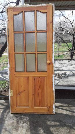 Двери деревянные,в очень хорошем состоянии!!!