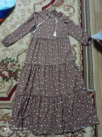 Хиджаб. Длинное платье