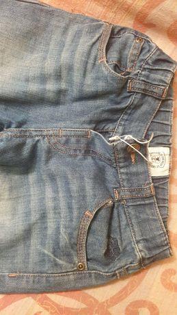 Детски дънки Chicco, 110 размер, с ластик, за момче
