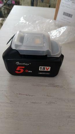 Продавам нова 18 волтова 5mAh батерия за MAKITA инструменти BL1850