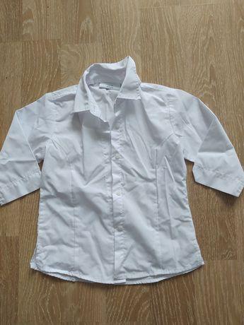 Рубашки белые Next Некст р122