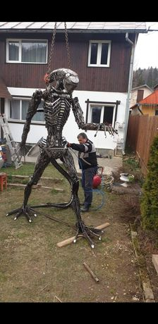 Alien Metal Art Steampunk