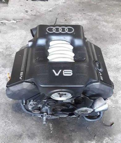 Двигатель Audi 2.8 2.4 30 клапанный A6 A4 Passat B5 из Японии!
