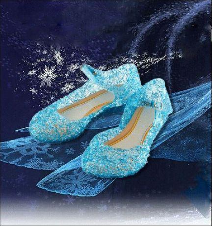 Бляскави Пантофки на Принцеса Елза от Замръзналото Кралство № 25-35