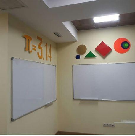 Мелово-маркерные школьные доски в г.  Алматы.  Бонусы, доставка