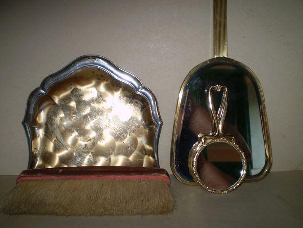 faras , perie , oglinda , vintage