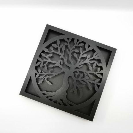 Rama tablou licheni