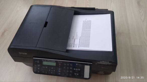 Продавам принтер скенер копир + подарък