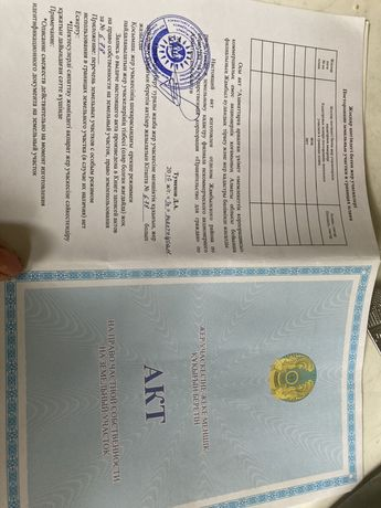 Село Узынагаш Ынтымақ ауылы жер сатылады