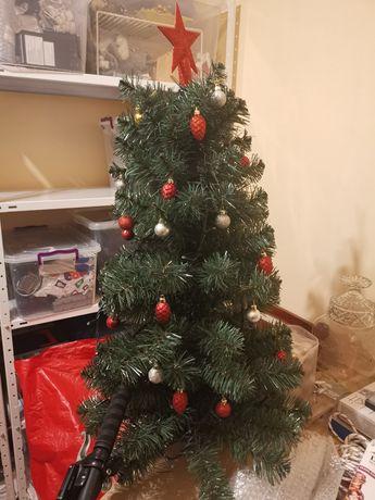 Изкуствена елха с украса