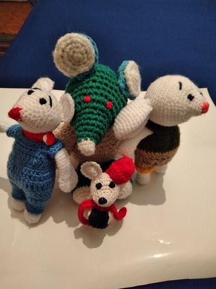 Мишки за Китайската Нова година