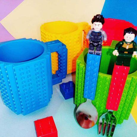 Кружка Lego конструктор
