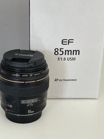 Объектив Canon EF 85 mm f/1.8 USM.   NEW !!!  НОВЫЙ !!!