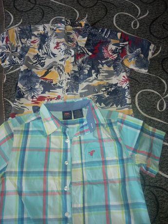 Летние рубашки для мальчиков.
