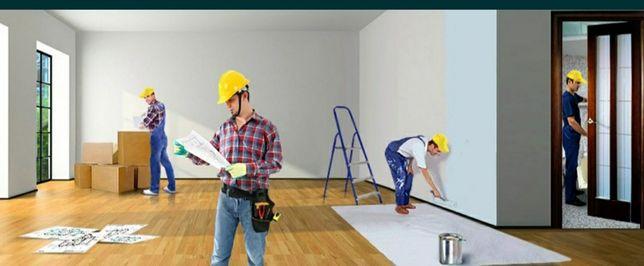 Ремонт/ Отделка отделочные работы и квартира мелкий объем ремонт