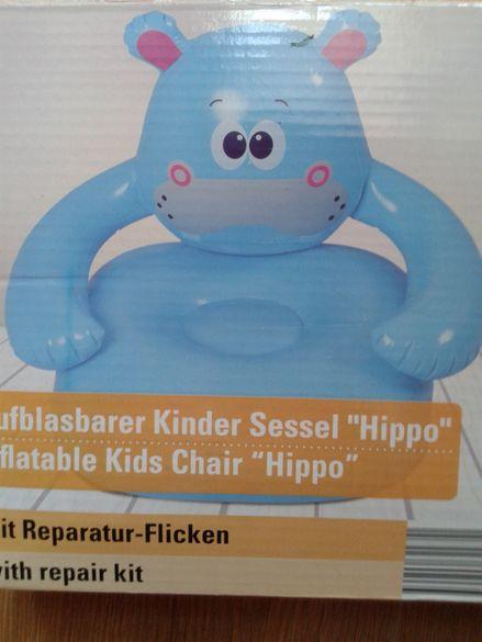 Детско столче Хипопотам - чисто ново.