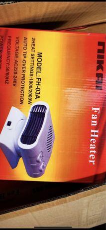 Обогреватель ветродуй тепловентилятор  электрический ветерок