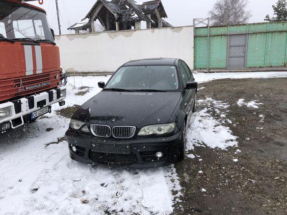 Bmw e46 320d 150hp auto НА ЧАСТИ ( бмв е46 320д 150 коня автомат )