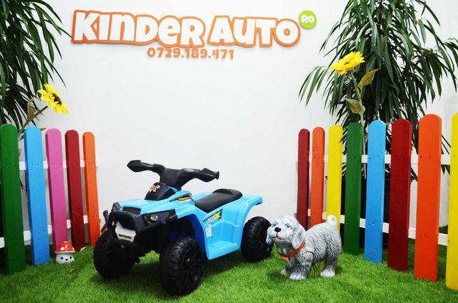 ATV electric pentru copii BJ-116 motor 45W baterie 6V 4.5Ah #BLUE