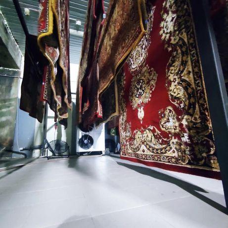 Стирка ковров на профессиональном оборудовании