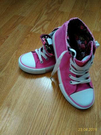 Pantofi tip bascheti fete, marimea 32