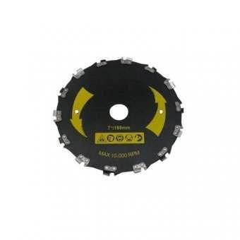 Disc motocoasa circular cu dinti tip lant drujba , 230x25.4x20T