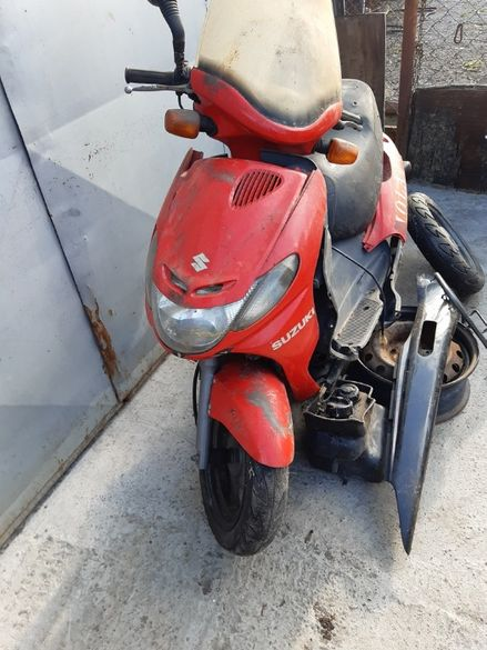 Скутер Сузуки адрес 110(Suzuki Address 110 .2t)-На части