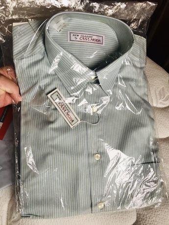Продавам нови мъжки ризи с къс и дълъг ръкав р-р M и L