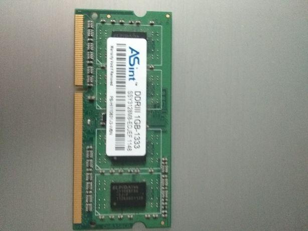 memorie laptop 1 GB DDR3 1333