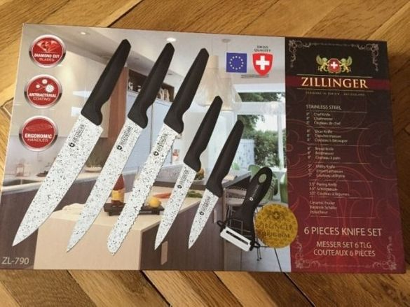 Комплект ножове Zillinger
