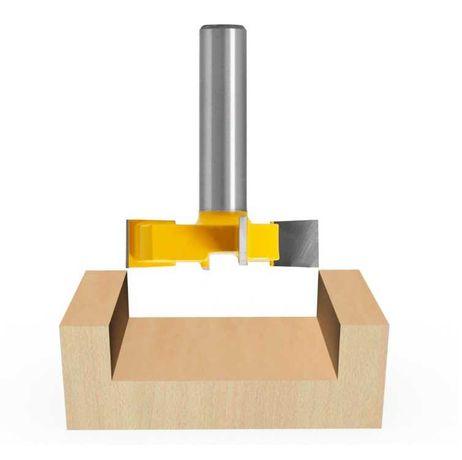 Фрезер за изравняване или  Т - канали, захват 8mm 4 работни ръба