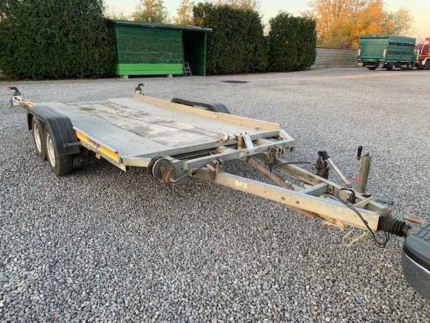Remorca- Platforma transport autovehicule