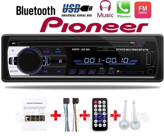 Магнитолла Пионер бездисковая Bluetooth