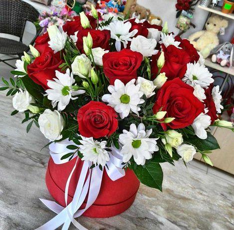 Бесплатная доставка цветы Алматы