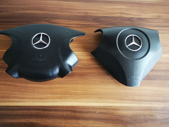 Капак Airbag Mercedes/Мерцедес (W203/W211) с емблема