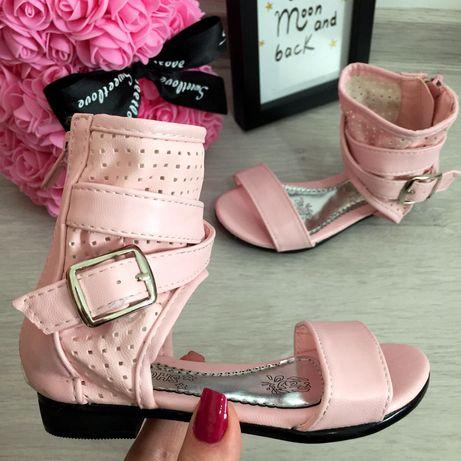 NOU Sandale roz usoare cu catarama pt fete 25 26 27 28 29 30