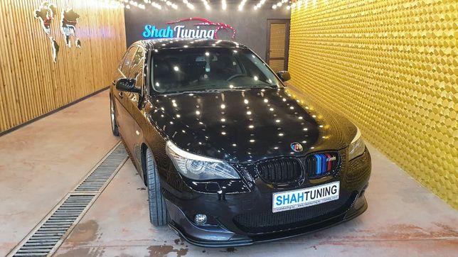 Сплитер переднего бампера M Tech BMW E60 5 Series