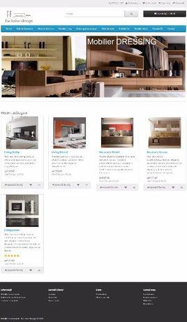 Vand site + domeniu mobilier-la-comanda.ro