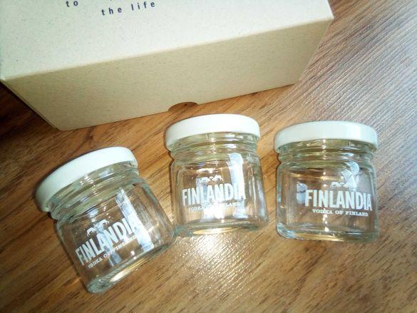 Декоративни мини бурканчета_Водка Finlandia