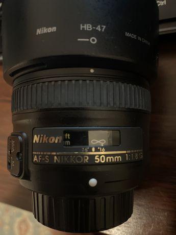 Продам объектив nikon 50 mm