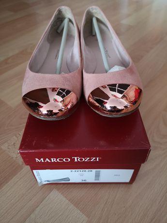 Balerini Marco Tozzi dama roz marimea 36