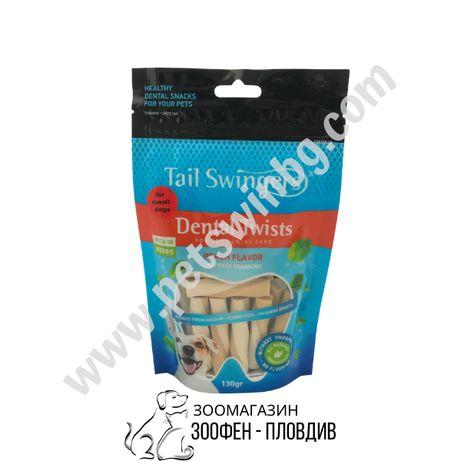 PetInt TailSwingers Dental Peach - 130гр. - Добавъчна храна за Кучета