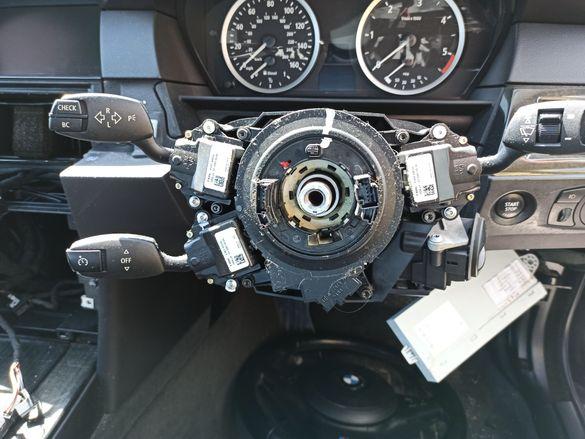 Управление чистачки, мигачи, лентов кабел, волан БМВ е60 е61 BMW e60 e