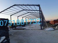 Vand hale metalice structuri demontabil 10x180m