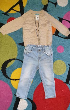 Pulover Zara baieti ,blugi hm 80