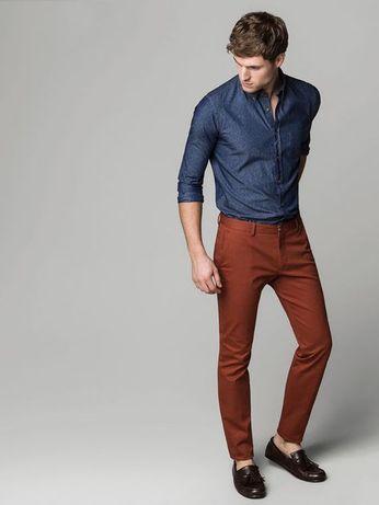 Pantaloni MASSIMO DUTTI, slim fit, marimea 38, nou cu eticheta