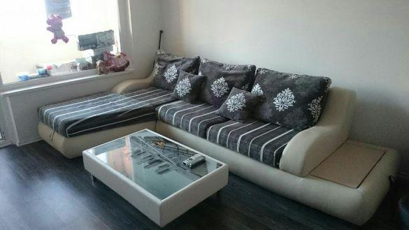 Стилен ъглов диван