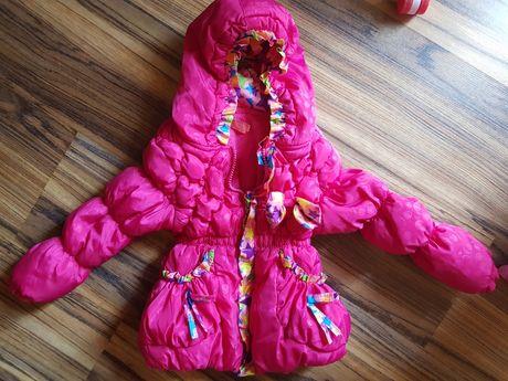 Зимно яке за момиче 12-18м