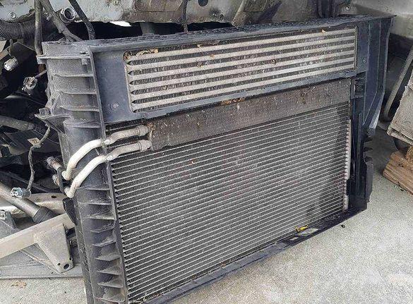 Перка охлаждаща радиатор воден климатик интеркулер БМВ е60/е61 BMW e6x
